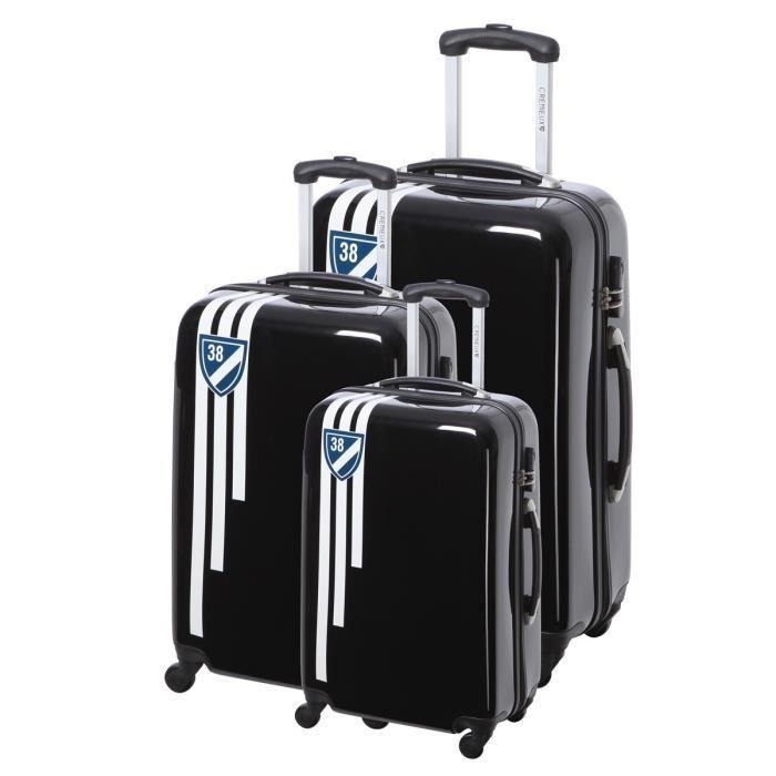 Set de 3 valises Daniel Cremieux (ABS, 4 roues, 50x60x70 cm, différents coloris)