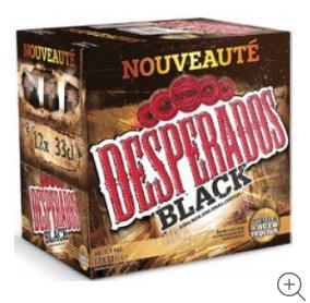 2 Packs de 12 Bières Desperados (33cl) - Black/Red/Lime/Verde (via 9.30€ sur la carte + bon d'achat de 10€)