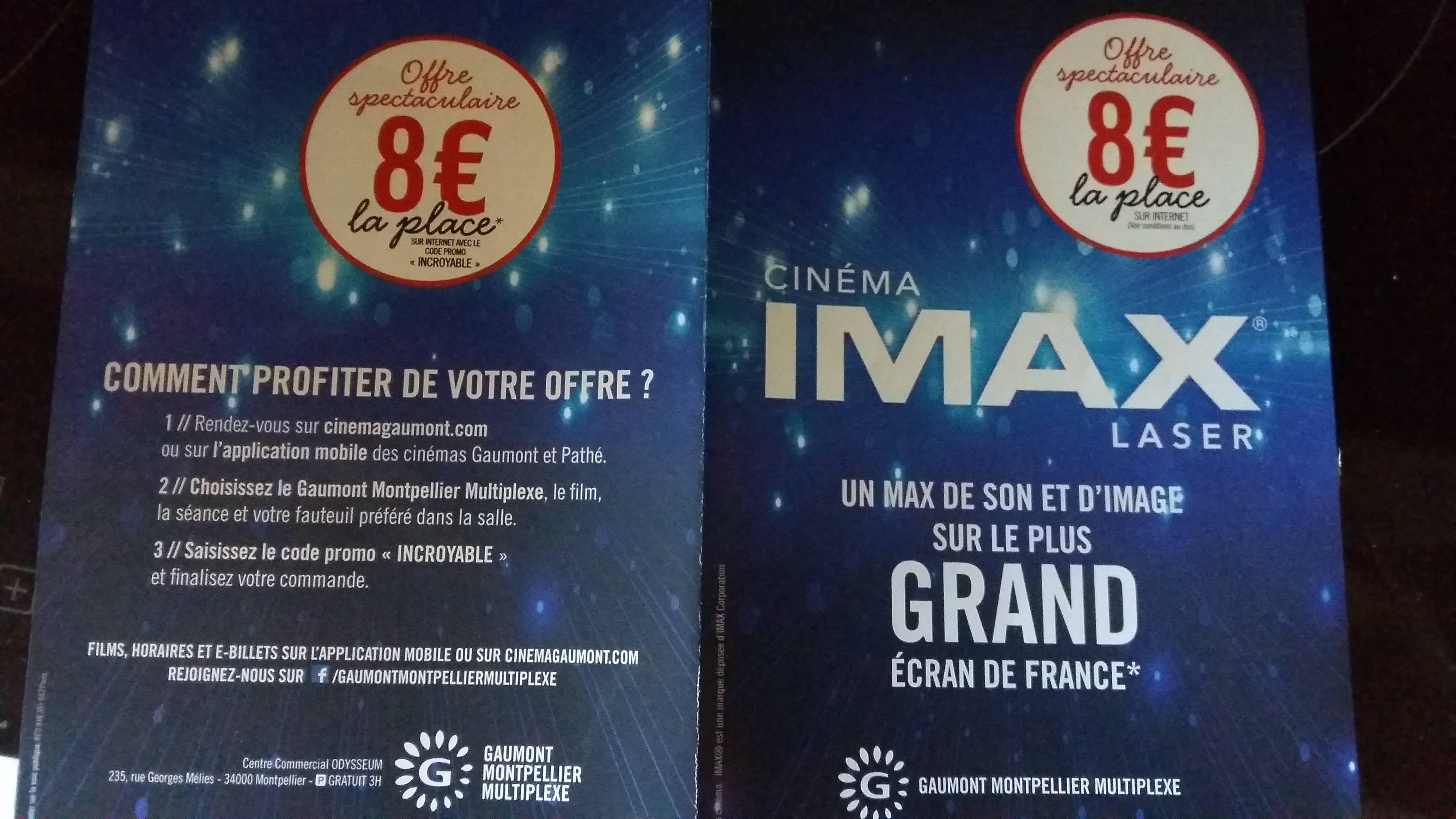 Place de cinéma IMAX