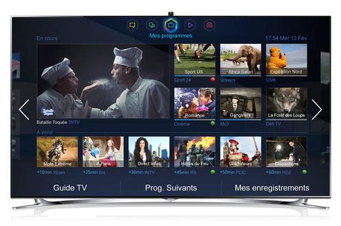 """Télévision Samsung UE46F8000 46"""" LED 3D - Wifi - Quad core"""