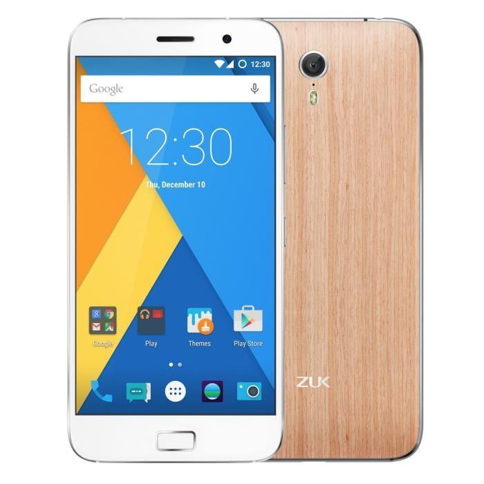 "Smartphone 5.5"" Lenovo ZUK Z1 - 4G, ROM 64 Go, RAM 3 Go (via l'application mobile)"
