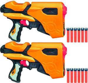 Lot de 2 Pistolets Nerf Dart Tag Speedload 6 - (7.3€ de port)