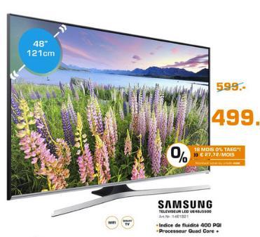 "Téléviseur 48"" Samsung 48J5500 Full HD"
