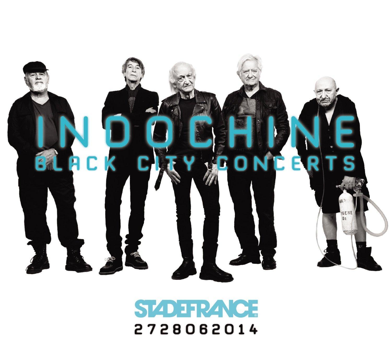 Coffret 4 Vinyles Indochine Black City Concerts
