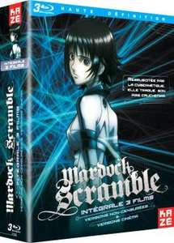 Coffret Blu-Ray Mardock Scramble - L'intégrale des 3 films