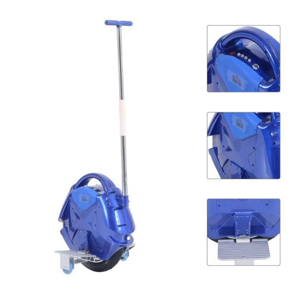Monocycle électrique homcom 350 W avec fonction bluetooth