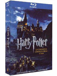 Harry Potter Edition Complète 8 Blu-Rays (contient le français) - (6,99€ de port)