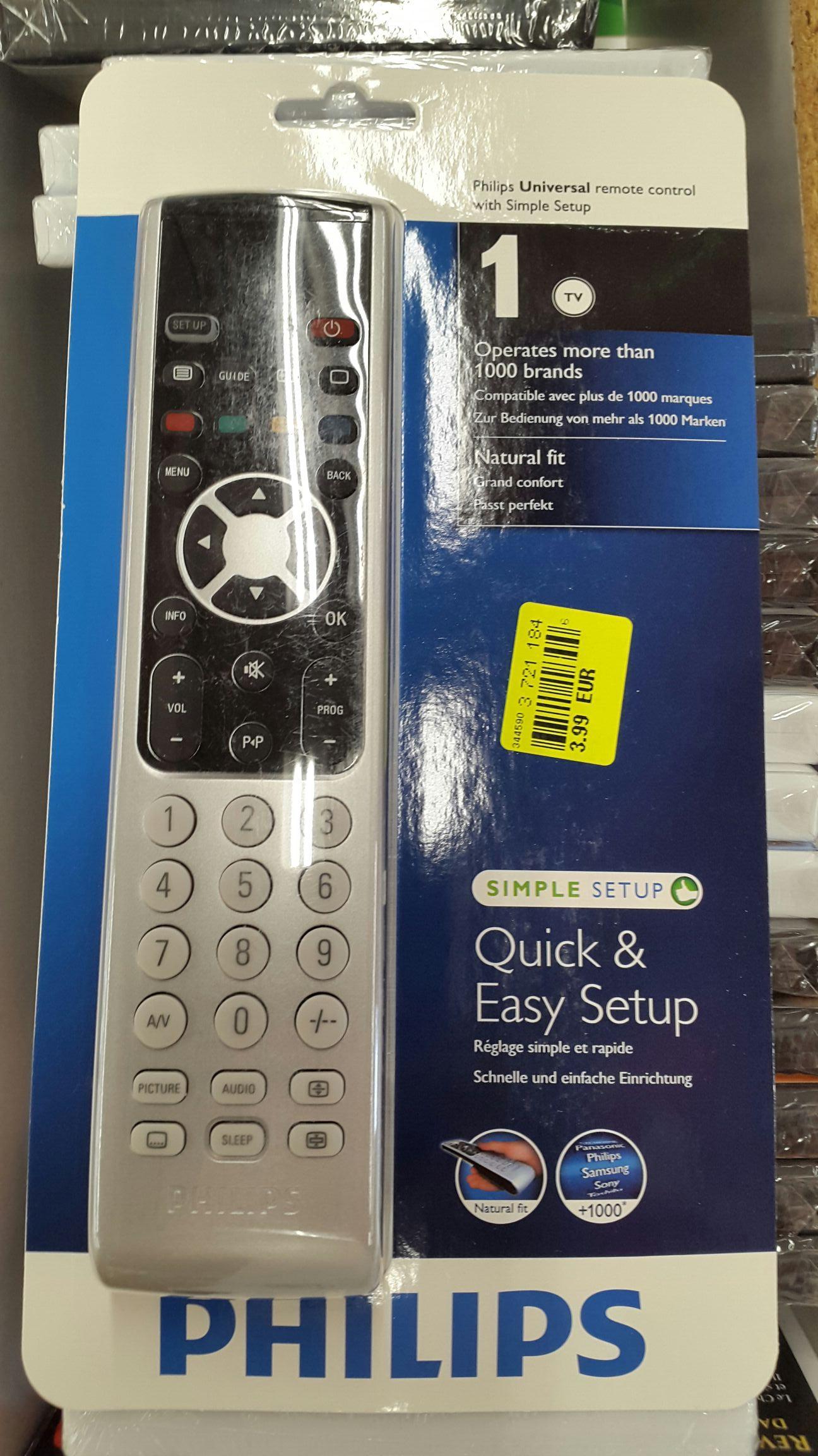 Télécommande TV Philips