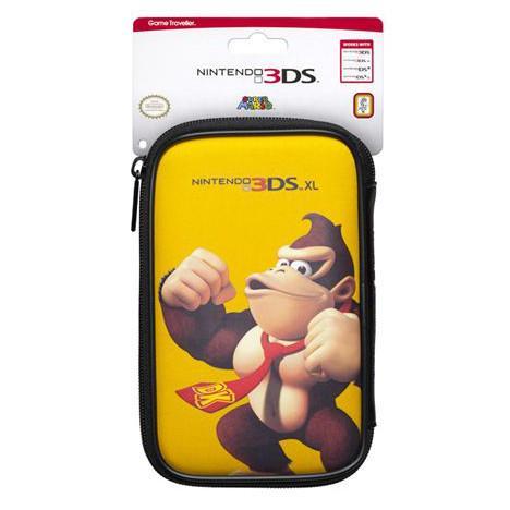 Selection de sacoche pour 3DS XL / New 3DS XL - Ex : Sacoche Officielle Donkey Kong