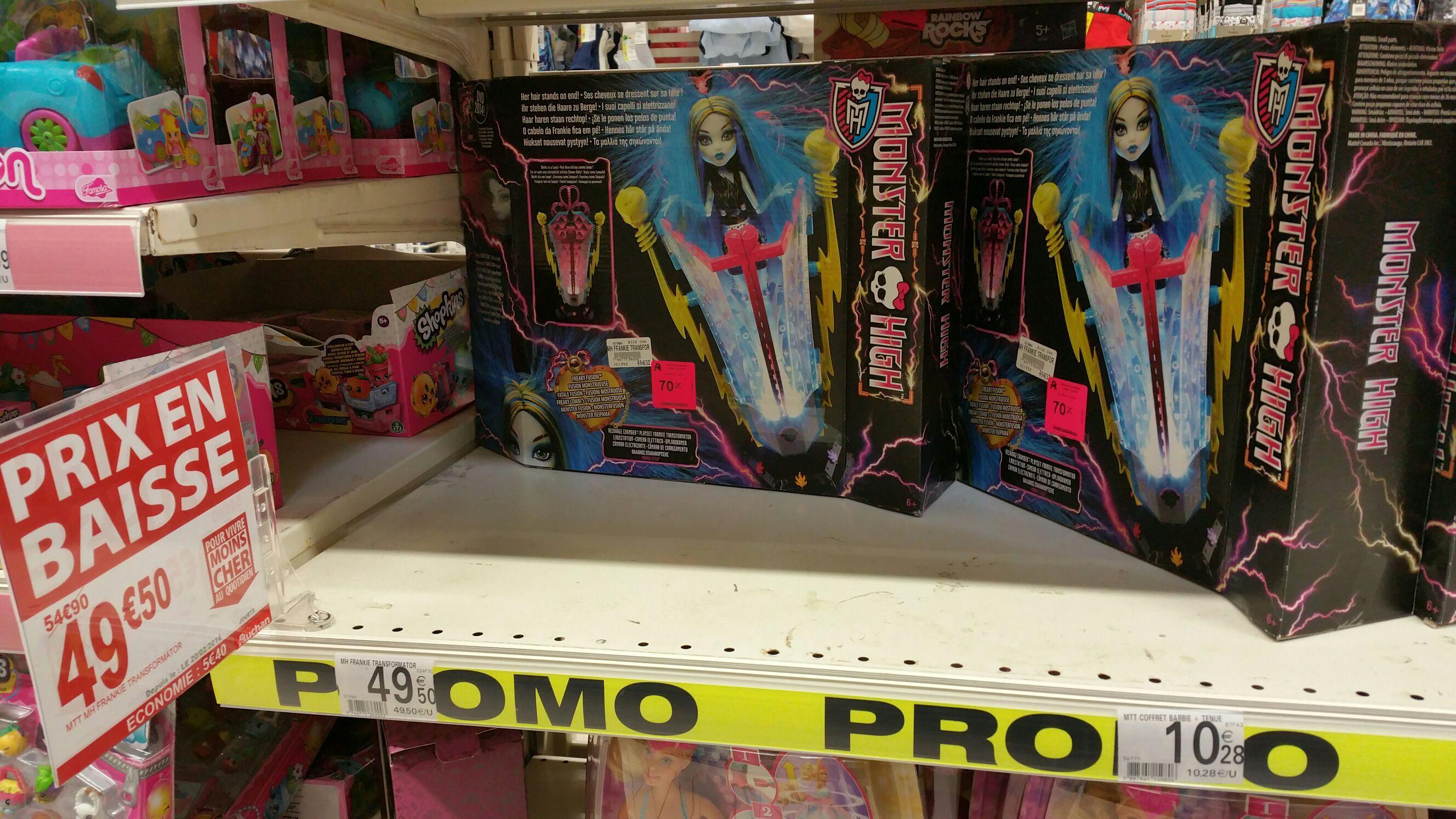 Jouet Monster High Frankie Transformator