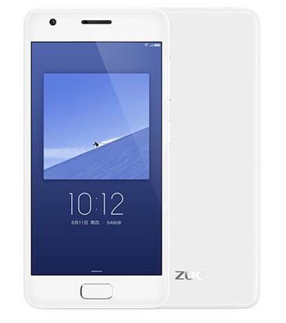 """Smartphone 5"""" Zuk Z2 - 4 Go de RAM, 64 Go, blanc (via application)"""