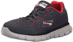 Chaussures basses Skechers Synergy FineTune (du 29 au 39, gris / rouge)
