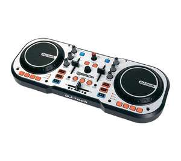 Sélection de contrôleurs DJ DJTech en promotion - Ex : Contrôleur DJ Tech Djforall