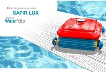 Robot de piscine Waterclip Safir Lux - Jusqu'à 200m²