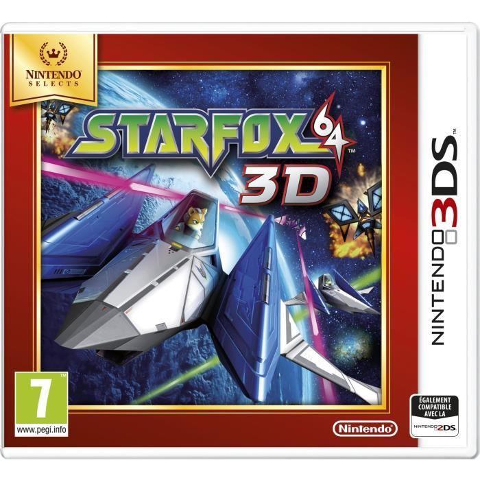 Nintendo Selects StarFox 64 3D sur 3DS