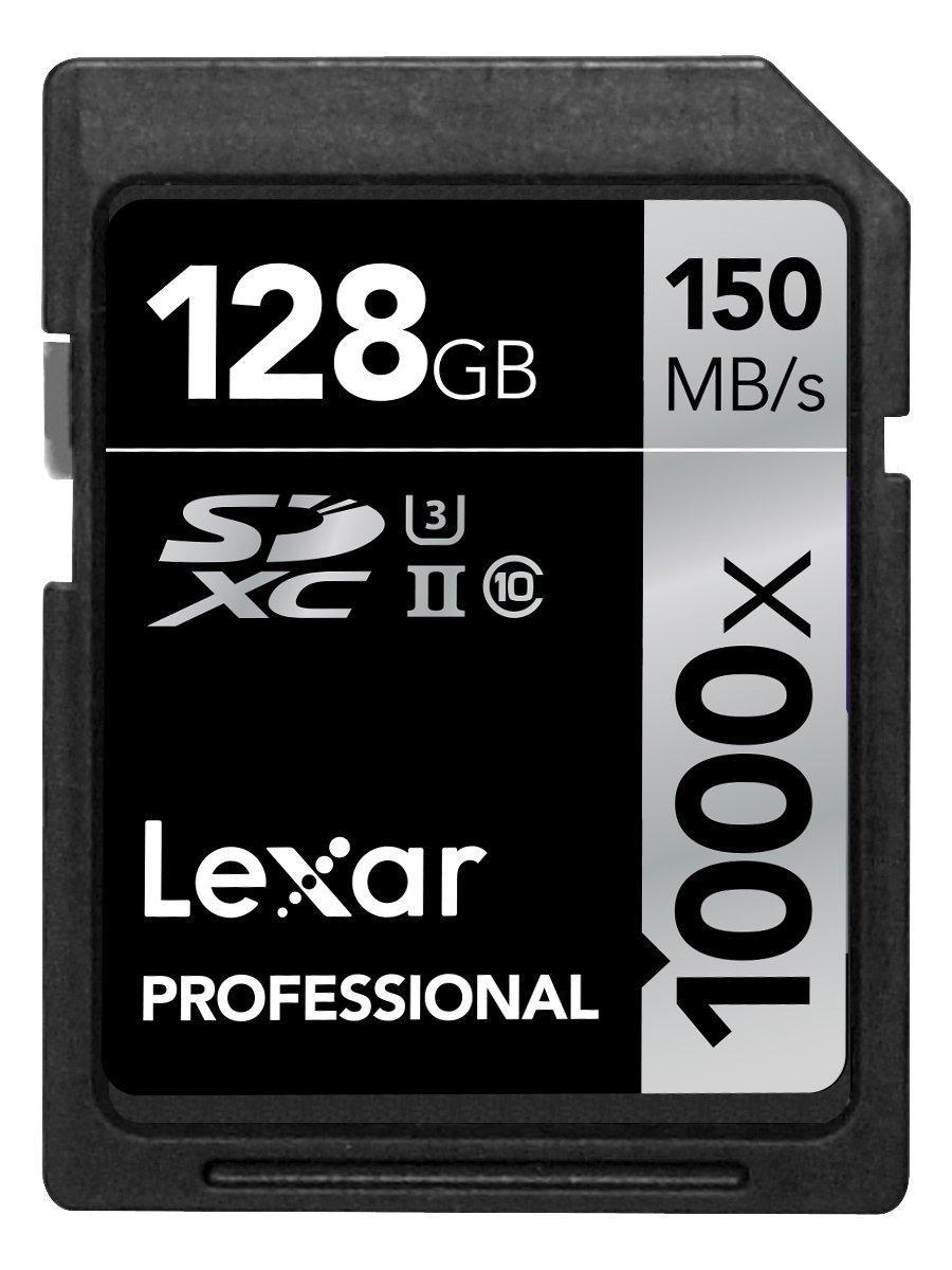 [Premium] Carte mémoire SDXC Lexar Professional 1000x -128 Go