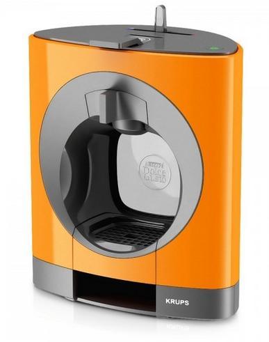 10 boîtes de capsules achetées = 1 machine Dolce Gusto Oblo Orange offerte