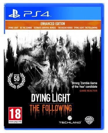 Dying Light: The Following - Enhanced Edition sur PS4 à 25€ et d'autres jeux à très bon prix