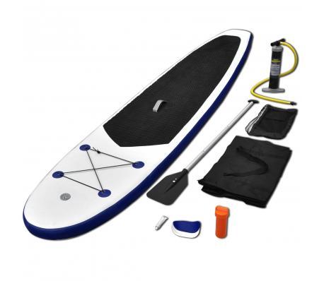 Planche Stand-Up Paddle  - Bleu et blanc