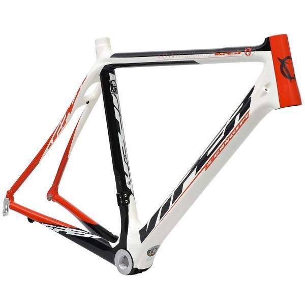 Cadre de vélo Route Viper Galibier - Blanc/Rouge