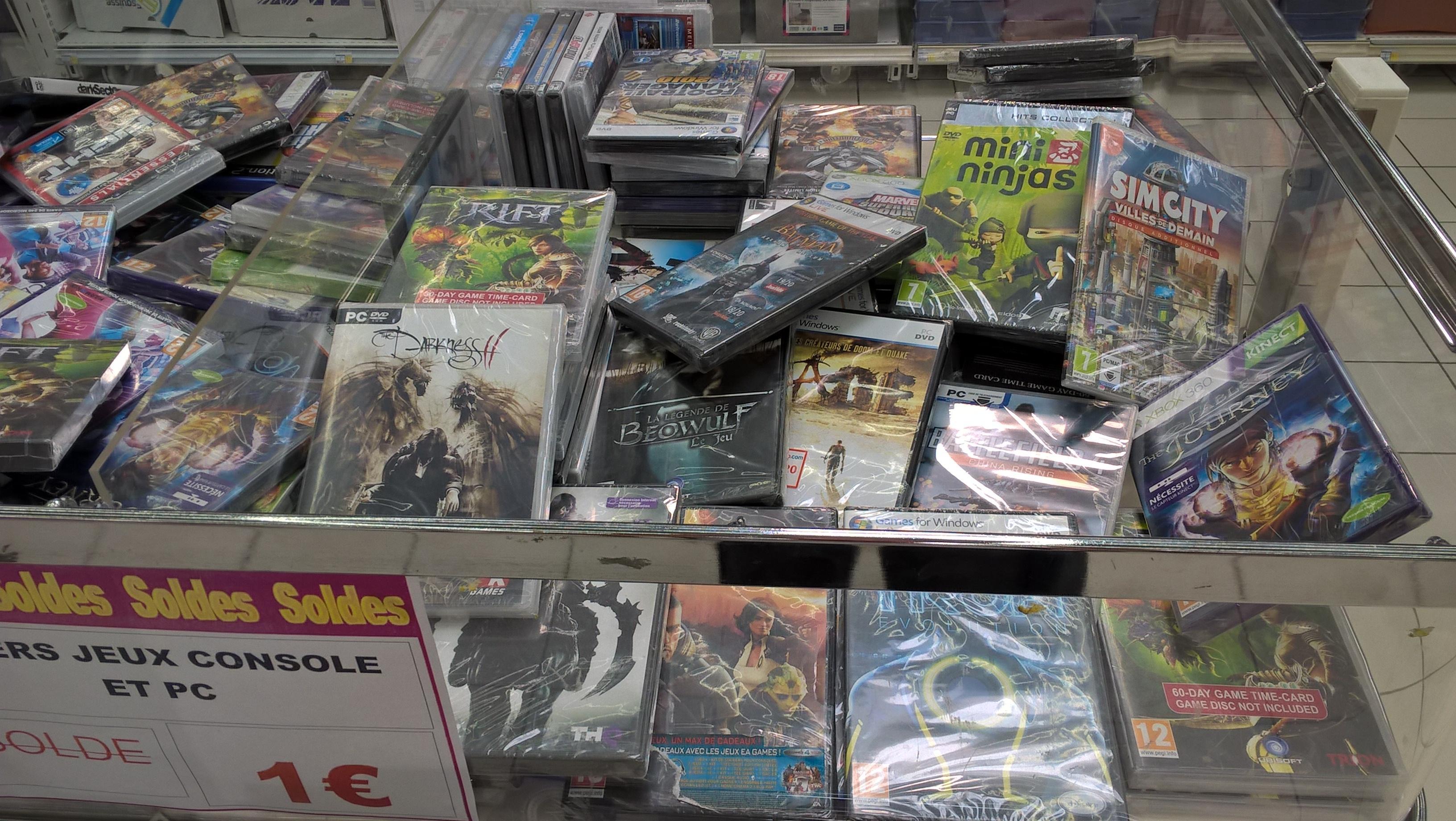 Sélection de jeux vidéo sur consoles et PC à 1€ - Ex : Batman: Arkham Asylum - GOTY Edition sur PC