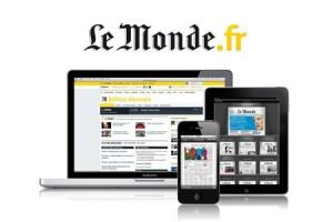 7 jours d'abonnements numérique au journal Le Monde (Web,mobile, tablettes) gratuit