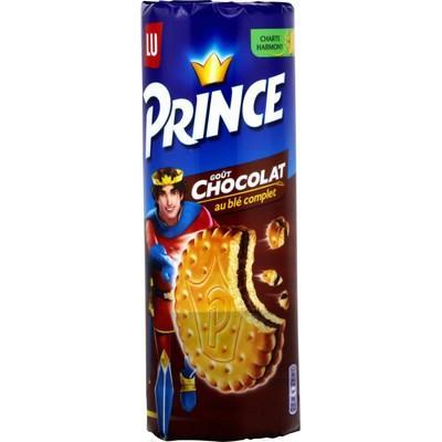 Lot de 3 paquets de Biscuits Prince de LU - Chocolat (via BDR + Shopmium)