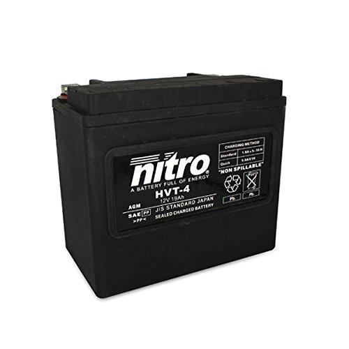 Sélection de Batteries Nitro pour Moto - Ex: HVT 04 -N
