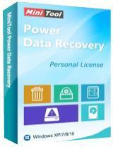 Logiciel MiniTool Power Data Recovery 7.0 Personal Edition offert sur PC (Dématérialisé)