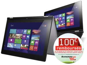 "Lenovo Yoga 11"" - SSD 64 Go - RAM 2 Go - Windows RT avec ODR (100€)"