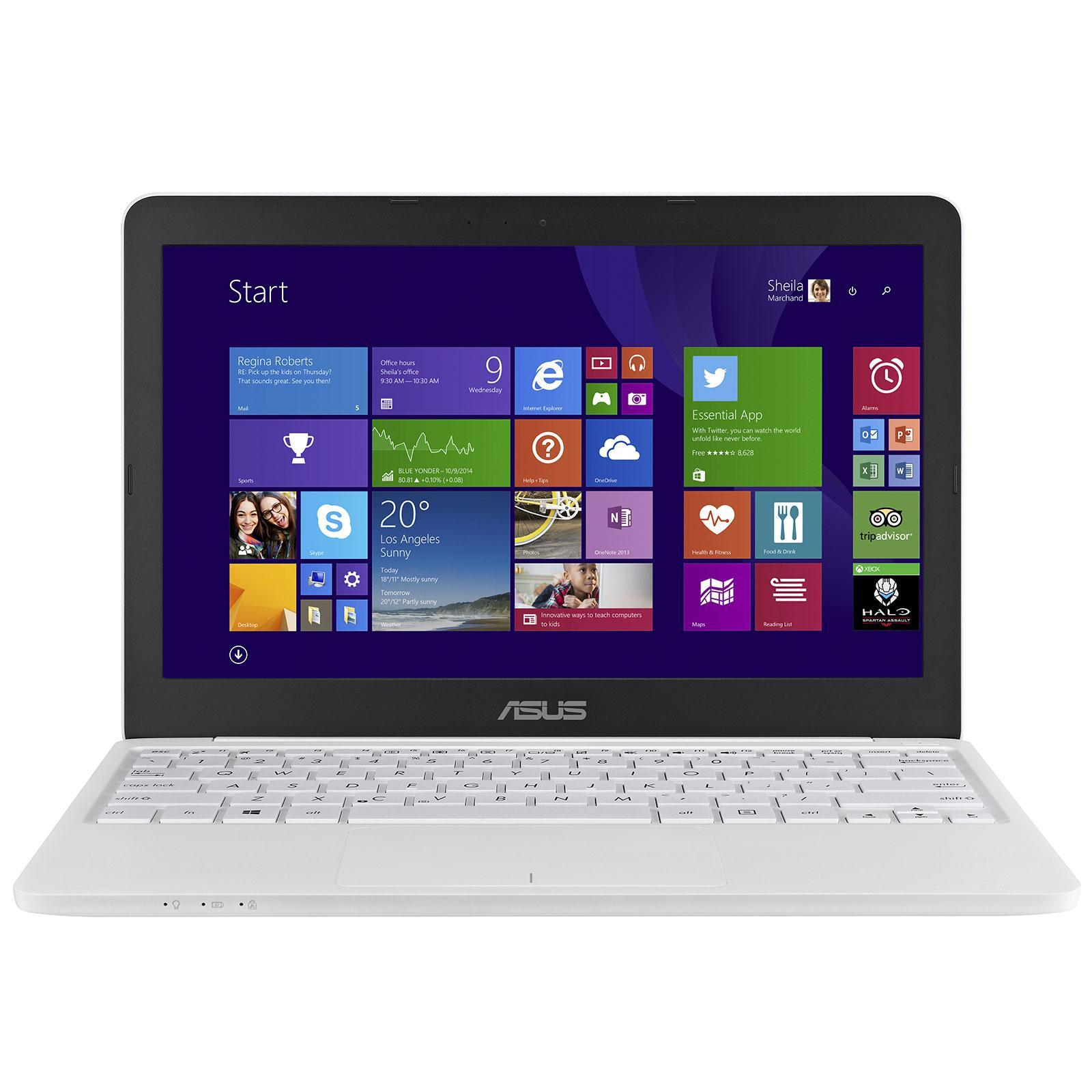 """Sélection de produits Informatique en promotion - Ex : PC portable 11.6"""" Asus EeeBook X205TA-FD0060TS (Z3735F, 2 Go de RAM, 32 Go en SSD)"""