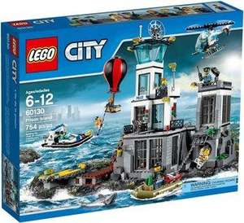 Jouet Lego City - La prison en haute mer (60130)
