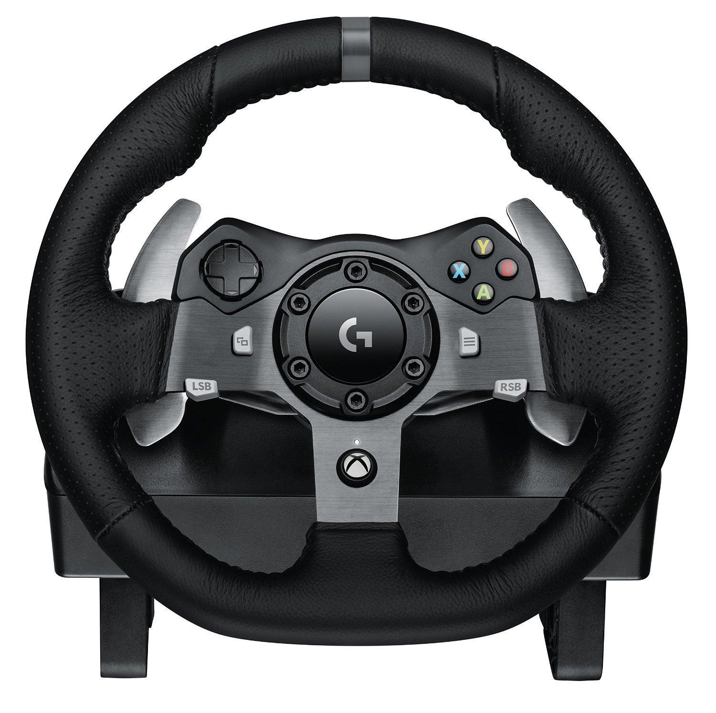 Volant Logitech G29 Driving Force pour PC / PS4 ou G920 Driving Force pour PC / Xbox One