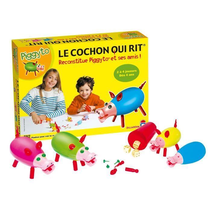 Sélection de jeux en promotion (via ODR) - Ex : Dujardin Le cochon qui rit - par 4 (via 7.28€ d'ODR) + 2.91€ ou 5.82€ en bon d'achat (CDÀV)