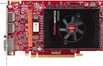 Carte Graphique AMD FirePro W5000 (Avec ODR de -50%)