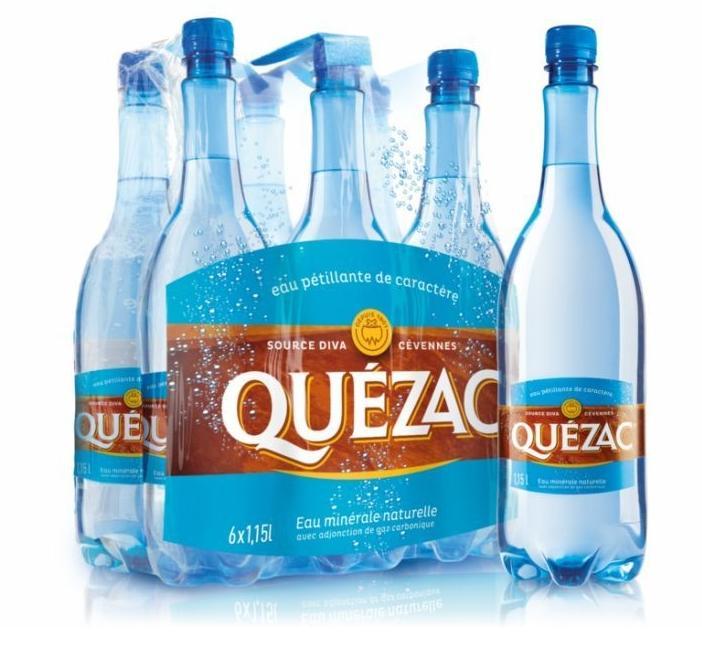 2 packs de 6 bouteilles Quezac (12 x 1.15L)