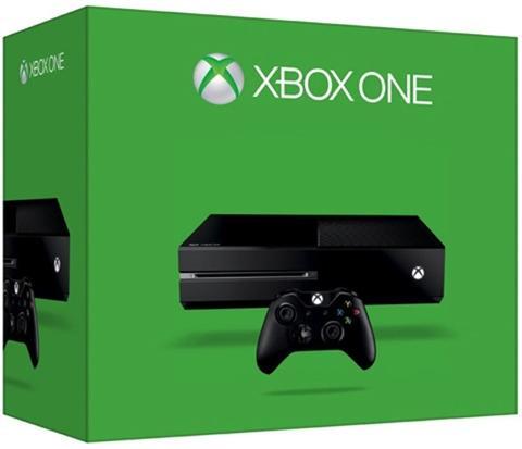 Console Xbox One 500 Go - Noir (via 100€ sur la carte fidélité)