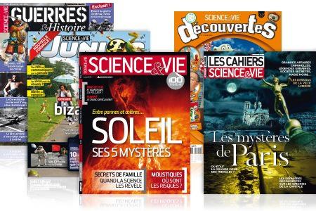Abonnement au magazine Science & Vie . 13 numéros  ( et d'autres magasines)