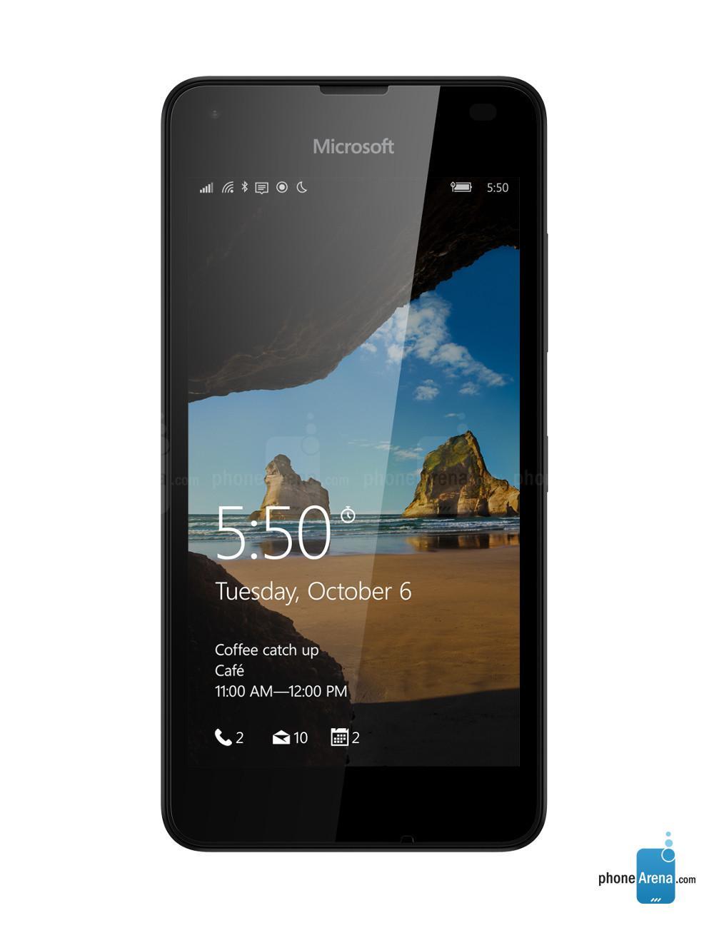 "[Abonné] Smartphone 4.7"" Microsoft Lumia 550 - Noir (avec ODR 30€)"
