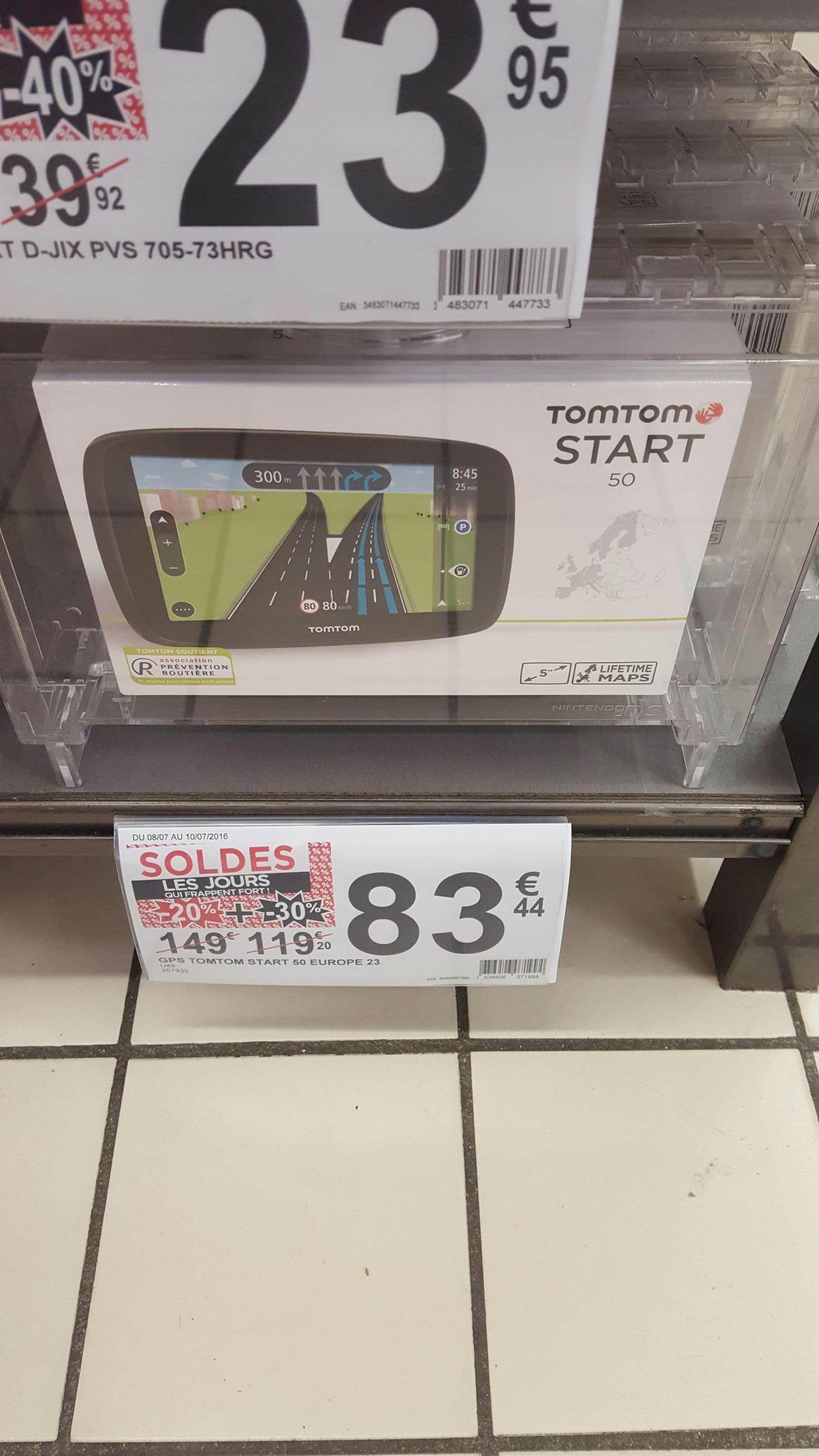 GPS Tomtom Start 50 Europe 23