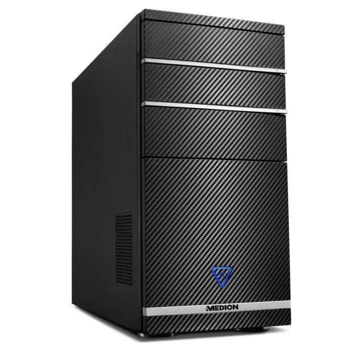 PC de Bureau Medion Akoya P2229D - i3-4170, 4Go de Ram, 1 To, GeForce GTX 745 + Windows 10 Famille (via ODR de 100€)