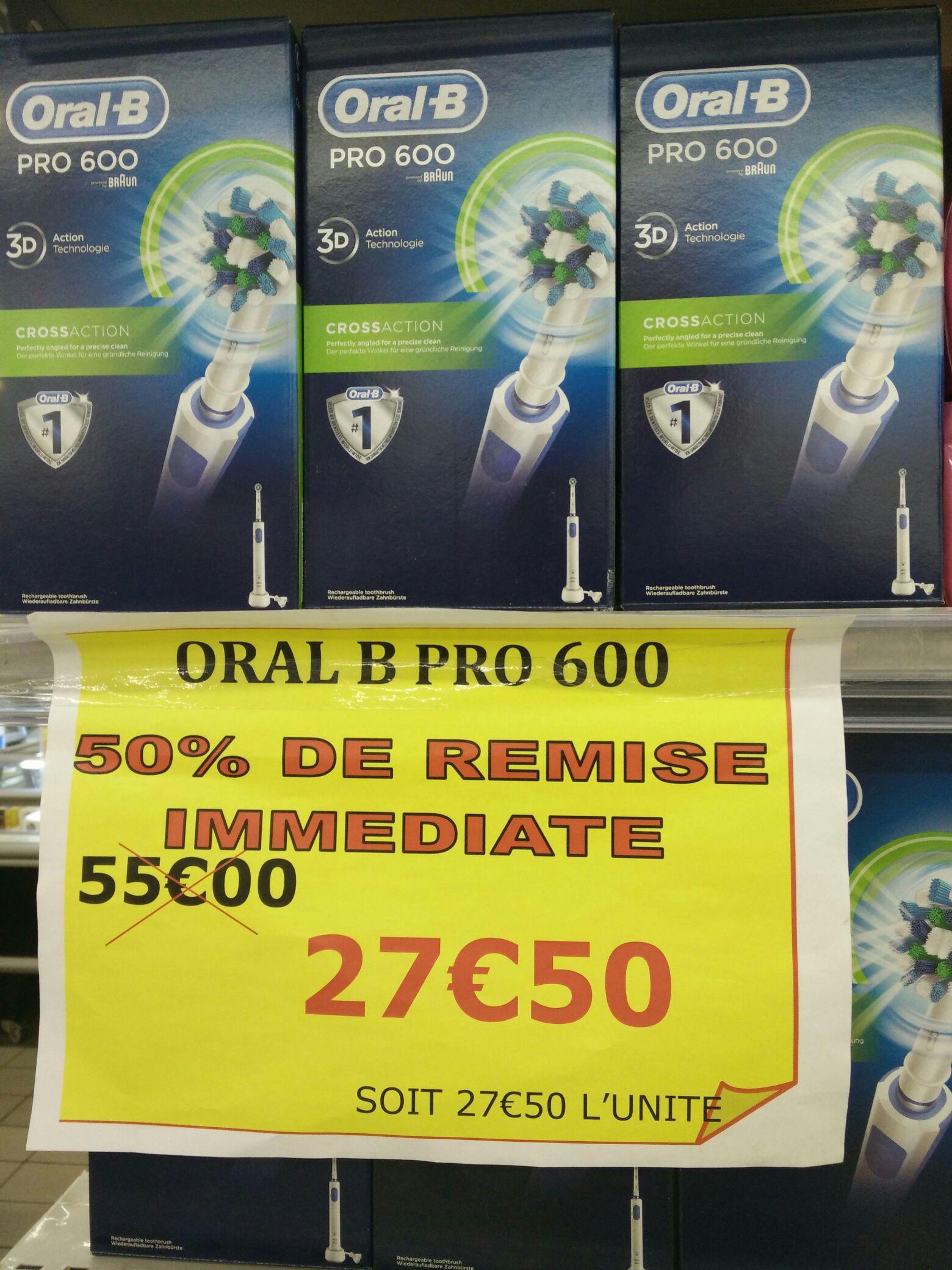 Brosse à dent électrique Oral-B Pro 600
