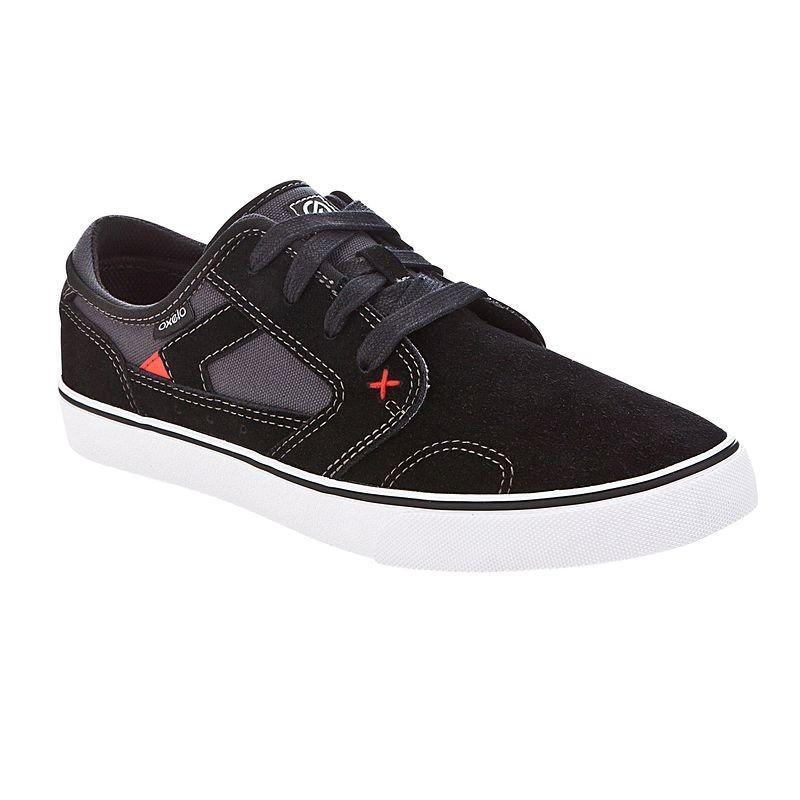 Chaussures de skateboard Oxelo Vulca Low Classic - Noir