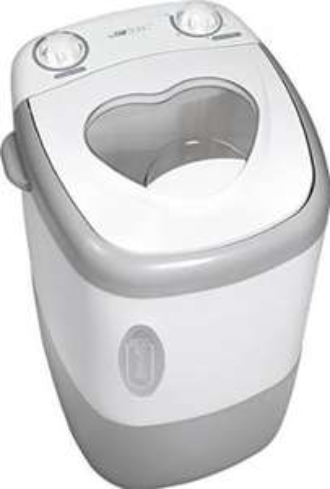 Mini machine à laver Clatronic MWA 3540 - 135W, Blanc