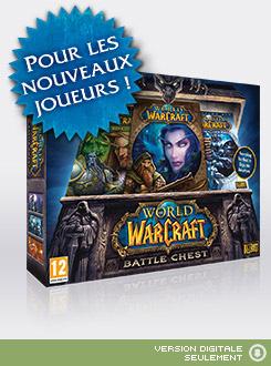 World Of Warcraft Mists Of Pandaria à 20€ et Battlechest, Cataclysm l'unité
