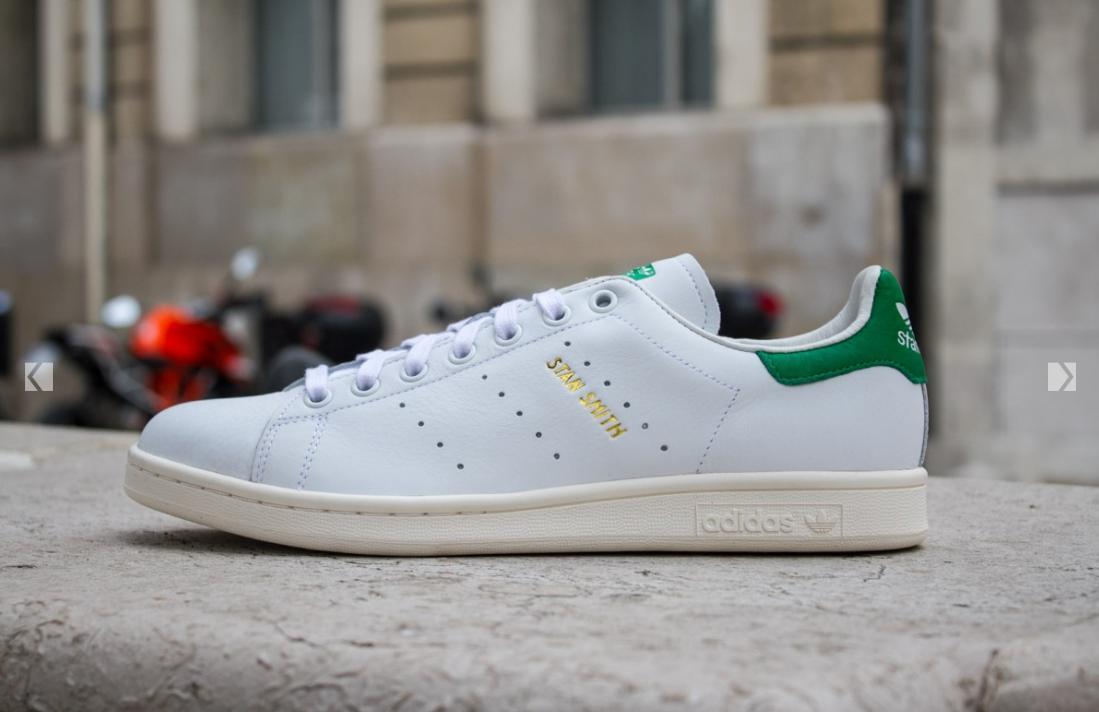 Baskets Adidas Stan Smith - Blanc Vert