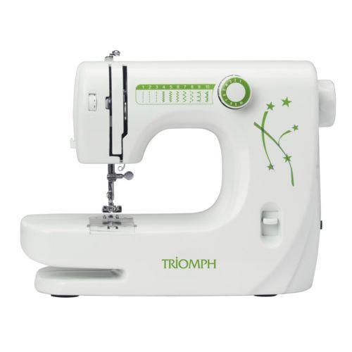 Machine à Coudre Triomph ETF1527 - Blanc/Vert
