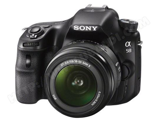 Reflex Sony SLT-A58K + Objectif DT 18-55 mm (Avec ODR de 50€)