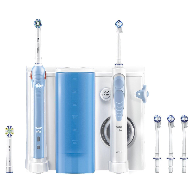 [Premium] Brosse à Dents électrique Oral-B PRO 1000 + Combiné Dentaire et OxyJet