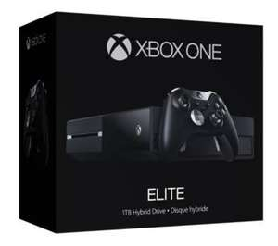 Console Microsoft Xbox One Elite - SSHD 1 To